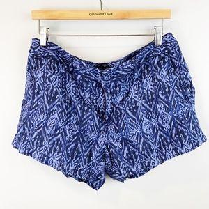 CYNTHIA ROWLEY Ikat Print Shorts